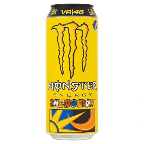 Monster Energy The Doctor 500ml Case 12 Cans  (UK)